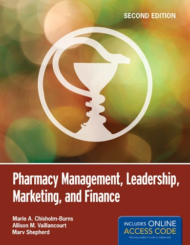 Pharmacy Management, Leadership, Marketing, and Finance  2nd 2014 edition cover