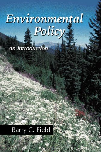 Environmental Policy An Introduction  2007 edition cover