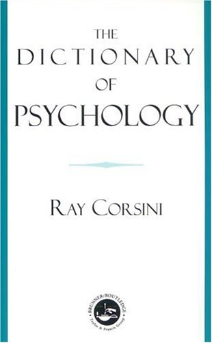 Dictionary of Psychology   2002 edition cover