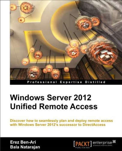 Windows Server 2012 Unified Remote Access Planning and Deployment   2012 edition cover