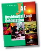 RESIDENTIAL LOAD CALCULATION M 8th 2003 edition cover