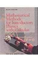 Mathematical Methods for Introductory Physics with Calculus  3rd 1994 9780030091285 Front Cover