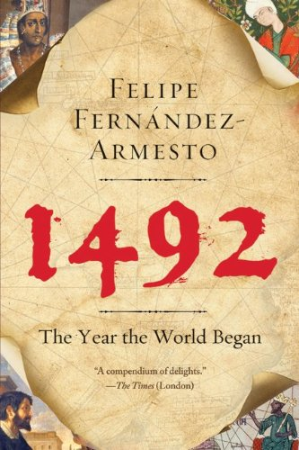 1492 The Year the World Began N/A edition cover