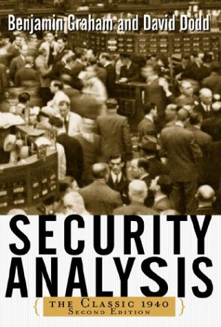 Security Analysis  2nd 2003 (Revised) edition cover