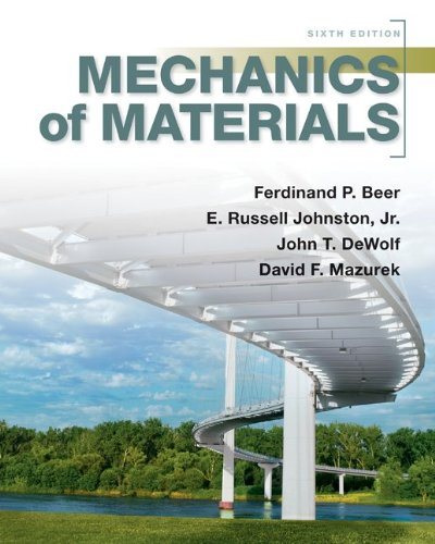 Mechanics of Materials  6th 2012 edition cover