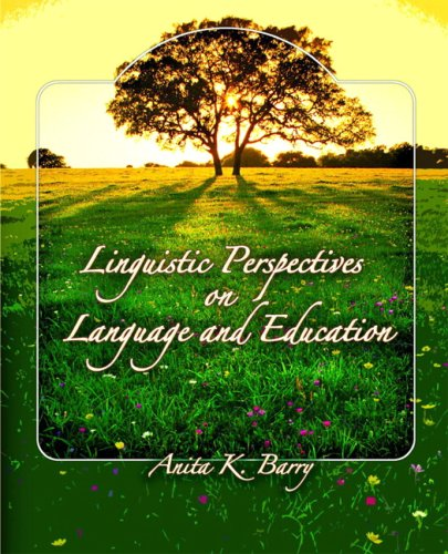 Linguistic Perspectives on Language and Education   2008 edition cover