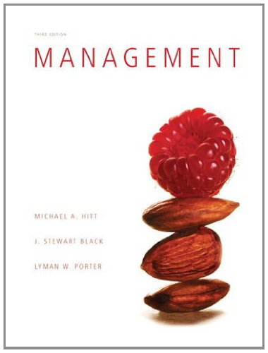 Management  3rd 2012 9780132553285 Front Cover