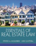 Essentials of Real Estate Law   2015 9780135114285 Front Cover