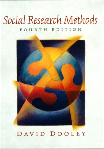 Social Research Methods  4th 2001 (Revised) edition cover