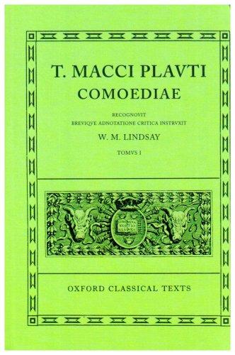 T. Macci Plavti Comoediae  N/A edition cover