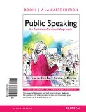 Public Speaking An Audience-Centered Approach, Books a la Carte Edition 9th 2015 edition cover