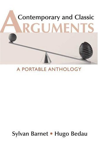 Contemporary and Classic Arguments A Portable Anthology N/A edition cover