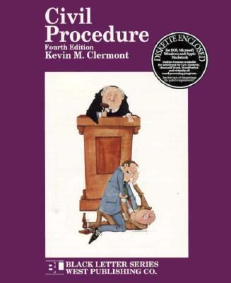 Black Letter on Civil Procedure  4th 1995 9780314065285 Front Cover