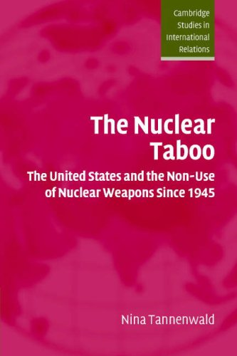 Nuclear Taboo The United States and the Non-Use of Nuclear Weapons Since 1945  2005 edition cover
