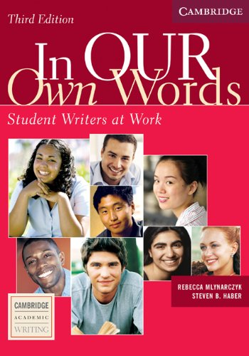 In our own Words Student Book Student Writers at Work 3rd 2005 (Revised) edition cover