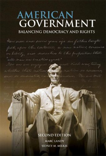 American Government Balancing Democracy and Rights 2nd 2008 (Revised) edition cover