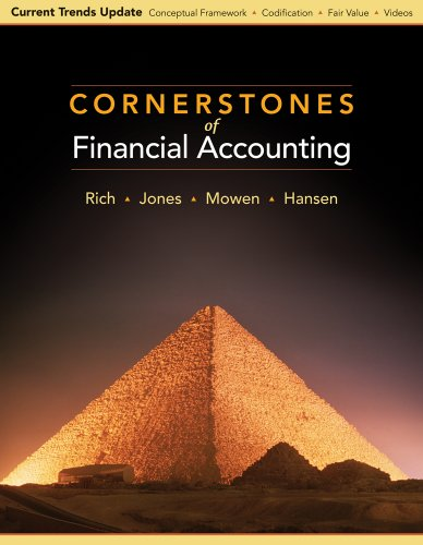 Financial Accounting   2010 (Revised) 9780538751285 Front Cover