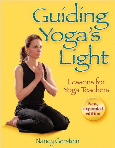 Guiding Yoga's Light Lessons for Yoga Teachers  2008 edition cover