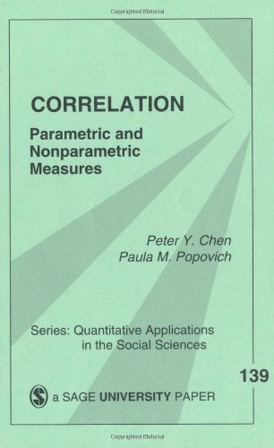 Correlation Parametric and Nonparametric Measures  2002 edition cover