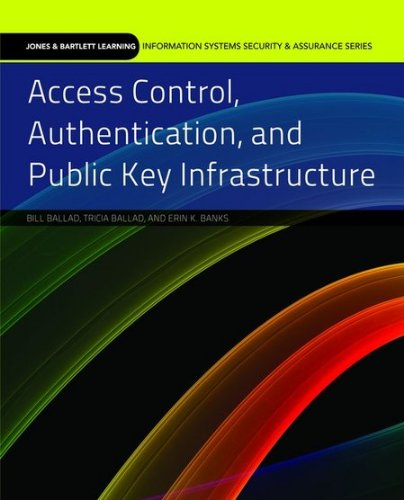 Access Control, Authentication, and Public Key Infrastructure   2011 edition cover