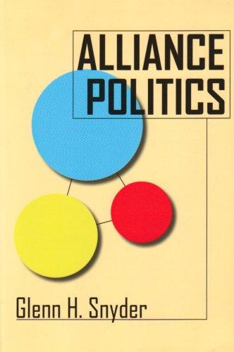 Alliance Politics   2007 edition cover