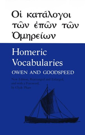 Homeric Vocabularies Greek and English Word-Lists for the Study of Homer N/A edition cover