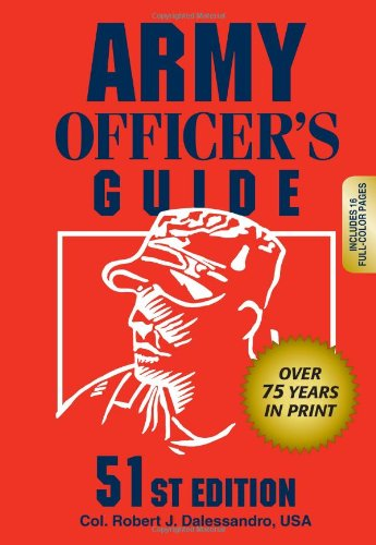 Army Officer's Guide  51st (Revised) edition cover