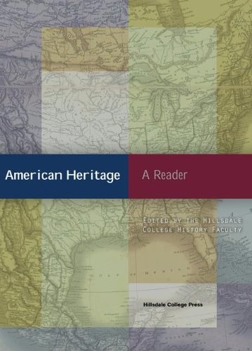 American Heritage A Reader  2011 edition cover