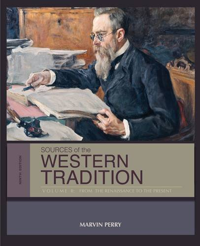 Sources of the Western Tradition From the Renaissance to the Present 9th 2014 9781133935285 Front Cover