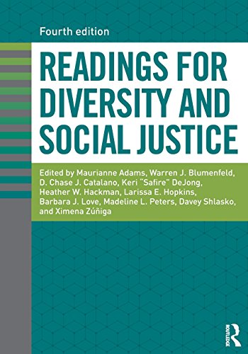 Readings for Diversity and Social Justice  4th 2018 9781138055285 Front Cover
