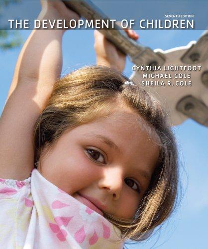 Development of Children  7th 2013 edition cover