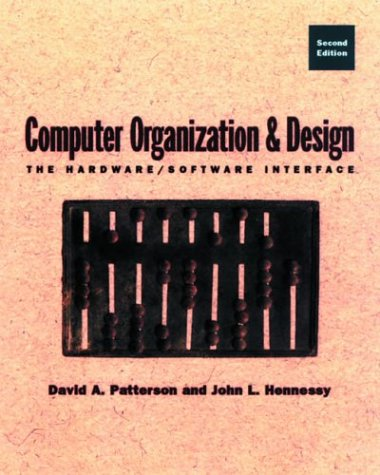Computer Organization and Design The Hardware/Software Interface 2nd 1998 edition cover
