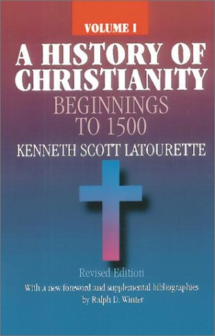 HISTORY OF CHRISTIANITY,VOL.I N/A edition cover