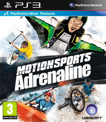 UBI Soft Motionsports: Adrenaline - Move Compatible (Ps3) PlayStation 3 artwork