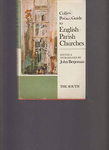 Collins Pocket Guide to English Parish Churches   1974 edition cover