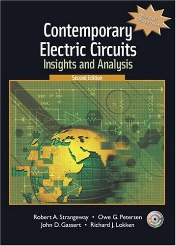 Contemporary Electric Circuits Insights and Analysis 2nd 2006 (Revised) edition cover