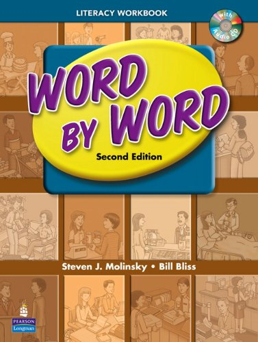 Word by Word Literacy Vocabulary Workbook  2nd 2009 9780131892286 Front Cover