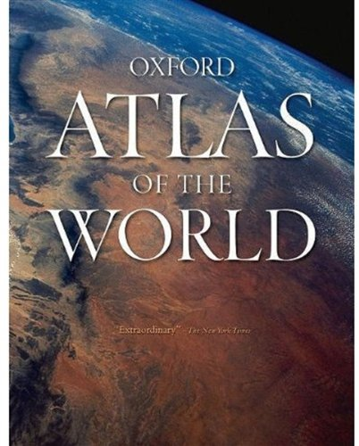 Oxford Atlas of the World  16th 9780195393286 Front Cover