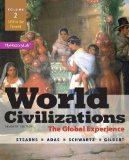 World Civilizations The Global Experience, Volume 2 7th 2015 edition cover