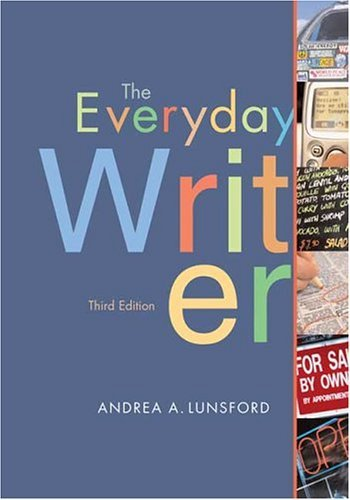 Everyday Writer 3rd 2005 edition cover