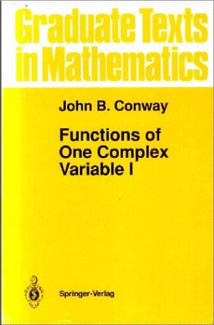 Functions of One Complex Variable I  2nd 1978 (Revised) edition cover
