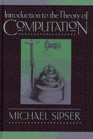 Introduction to the Theory of Computation  1st 1997 edition cover