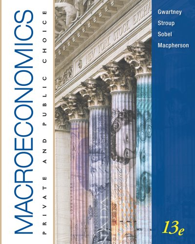 Macroeconomics Private and Public Choice 13th 2011 9780538754286 Front Cover