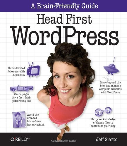Head First WordPress   2010 edition cover