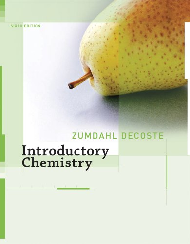 Introductory Chemistry  6th 2008 edition cover