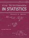 Viva la Difference in Statistics  2nd 2004 (Revised) 9780757502286 Front Cover