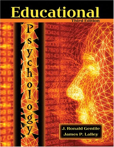 Educational Psychology  3rd 2005 (Revised) 9780757515286 Front Cover