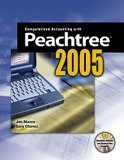 Computerized Accounting with Peachtree 2005 1st 2005 9780763822286 Front Cover
