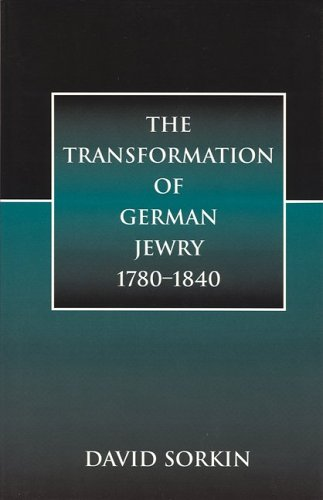 Transformation of German Jewry, 1780-1840   1999 edition cover