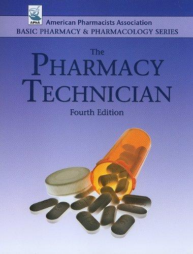 Pharmacy Technician   2010 edition cover